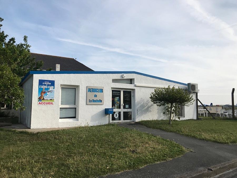 aéroclub de La Rochelle et de la Charente Maritime - accueil