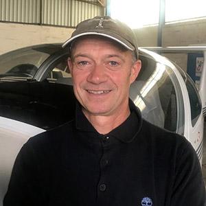 Jean-Michel Dardaud instructeur aéroclub de La Rochelle